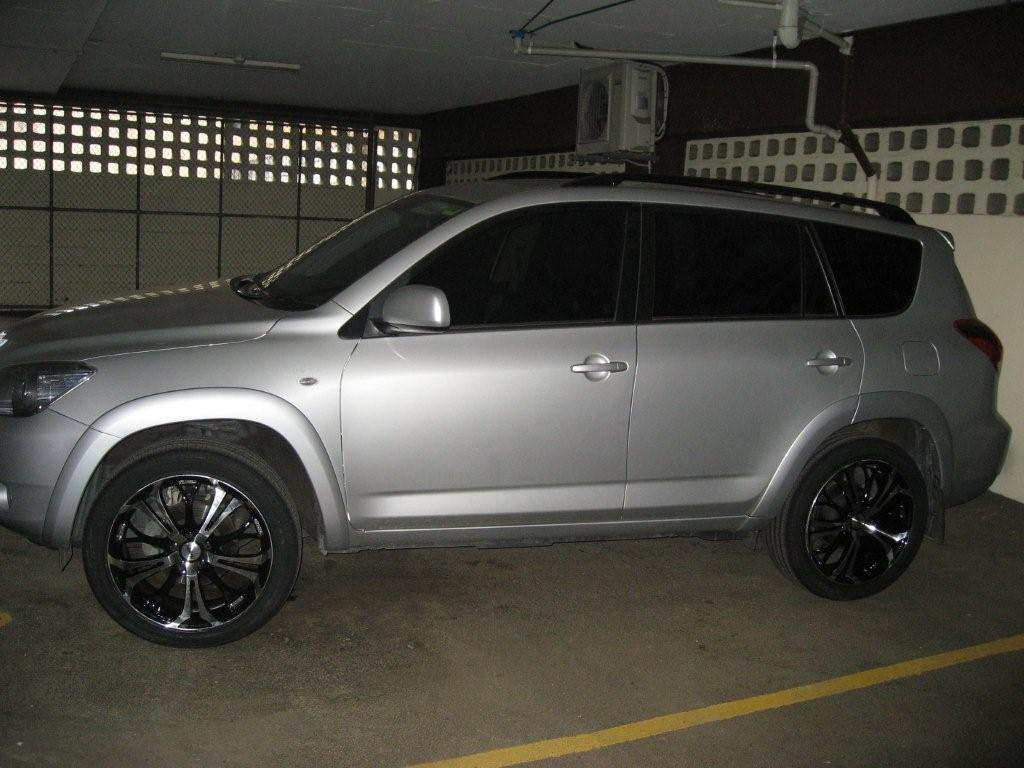 19 inch kluger wheels on a rav4 2008 - rav 4