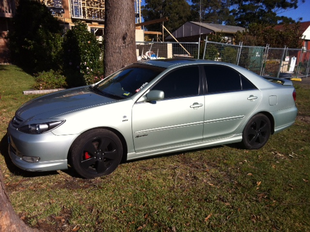 toyota camry 2003 sportivo automatic 24l members rides