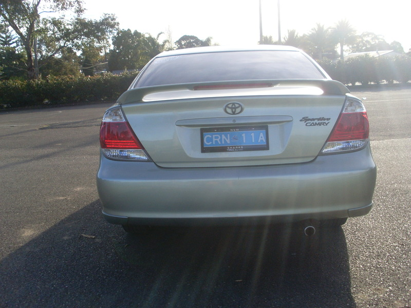 Toyota Camry 2003 Sportivo Automatic 2 4l Members Rides